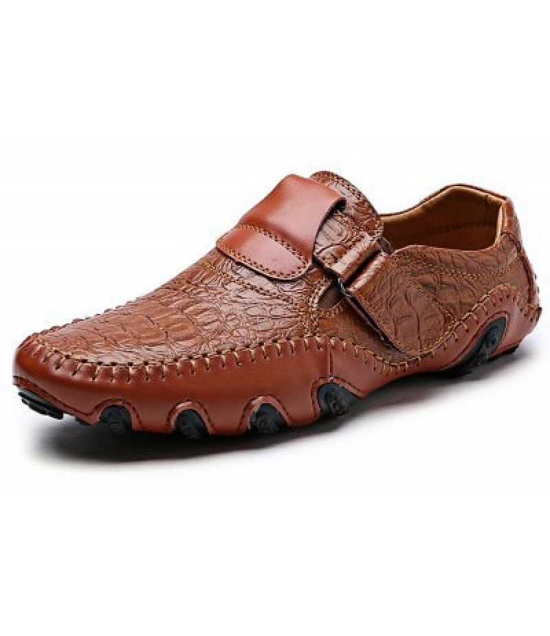 Casual Slip-on Men Leather Shoes