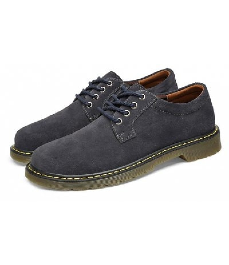 Male Wearable Soft Lower-cut Casual Martin Oxford Shoes