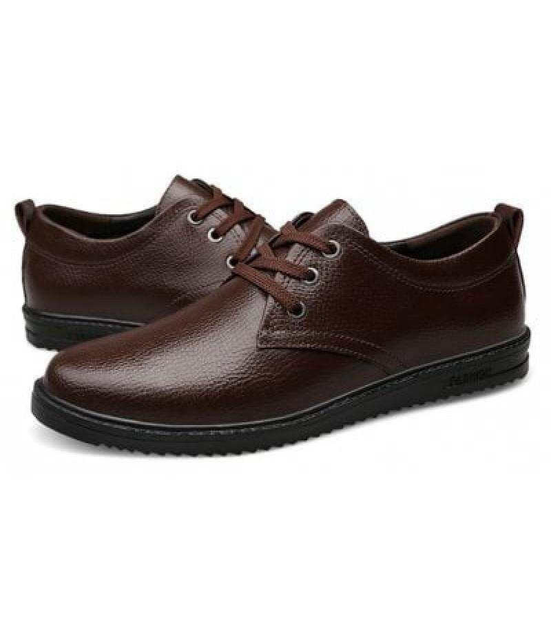 Men's Lustrous Soft Ultralight Casual Oxford Shoes