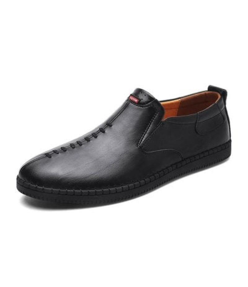 Men Business Soft Casual Leather Oxford Shoes