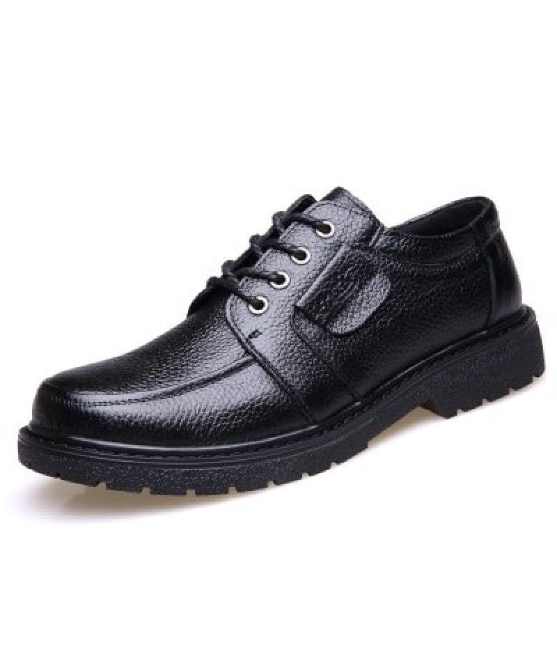 Men Oxford  Casual  Leather Breathable Business Male Shoe