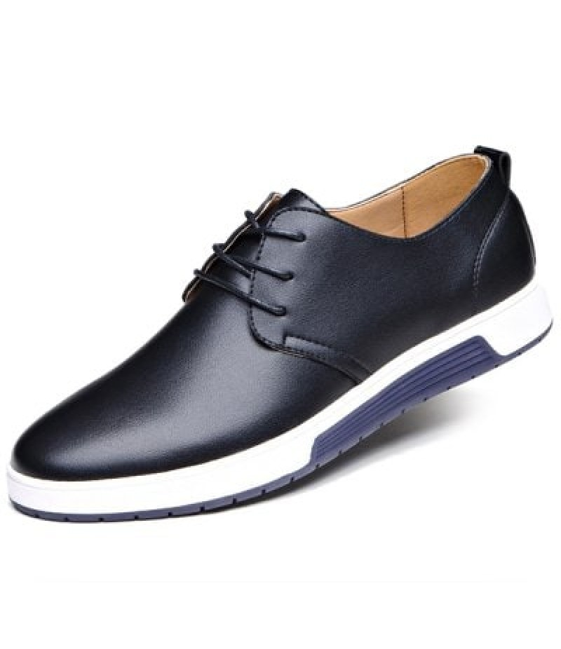 Men Fashion British Style Breathable Casual Shoes