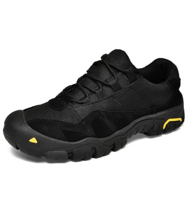 Men Outdoor Splicing Breathable Anti-slip Sports Shoes