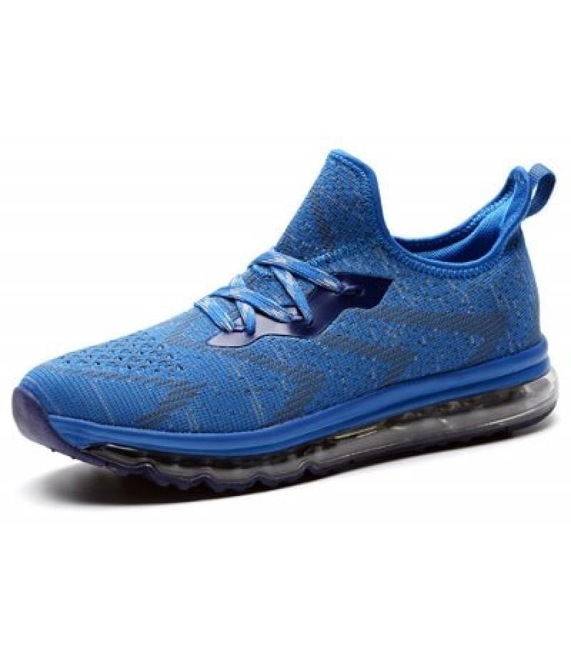 Elastic Fabric Jogging Sports Shoes for Men