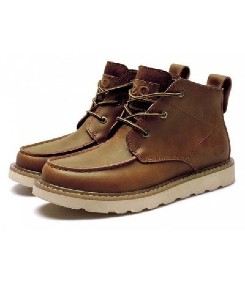 Men Classic Western Casual Comfort Low Heel Ankle Boots