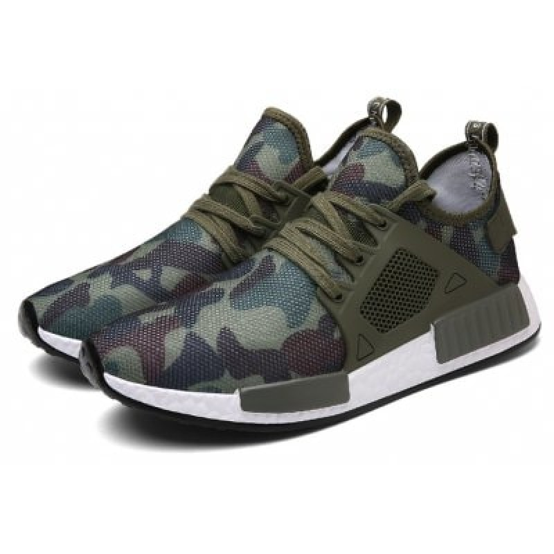 Men Breathable Lightweight Camouflage Sneakers