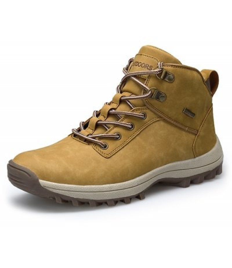 Men's Outdoor Soft Hiking Plus-size Athletic Shoes