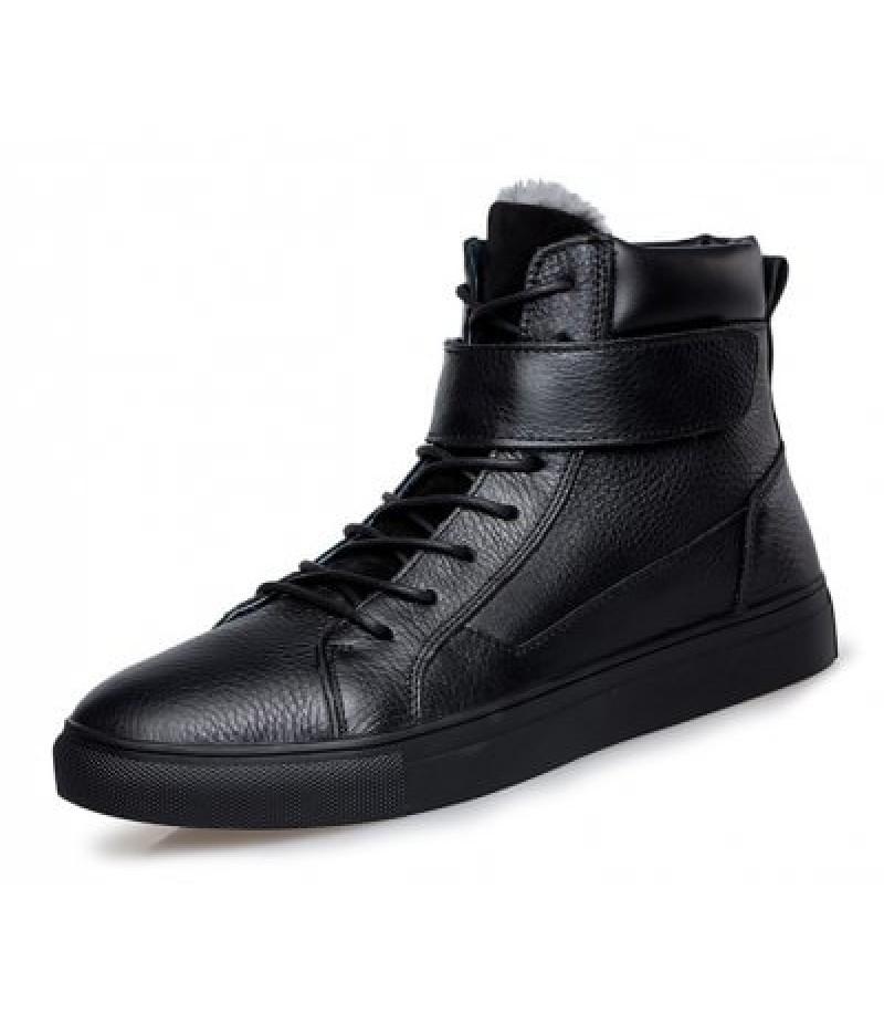 Men Classic Warmest Soft High Winter Boots