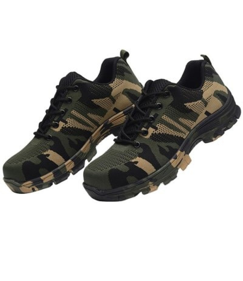 All-match Anti-shock Steel Toe Fashion Outdoor Sports Shoes