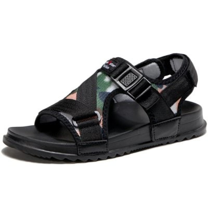 Men Stylish Summer Camouflage Anti-slip Hollow-out Sandals